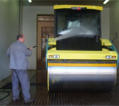 Mycí, odmašťovací a fosfátovací kabiny, montáže