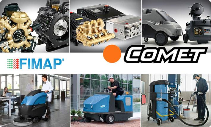 Comet plus Fimap = výkon, spolehlivost, kvalita
