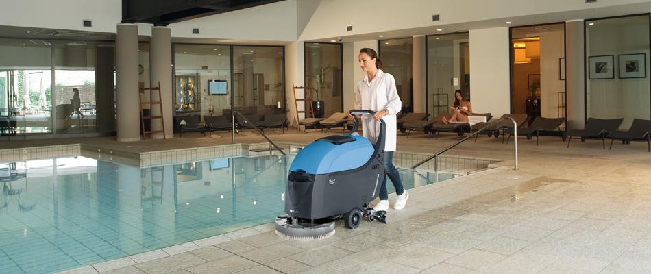 Podlahový mycí stroj Fimap iMx