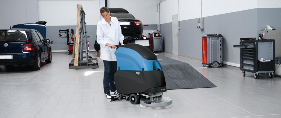 Podlahový mycí stroj Fimap MMx
