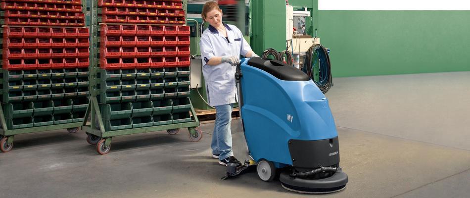 Podlahový mycí stroj Fimap My50 B